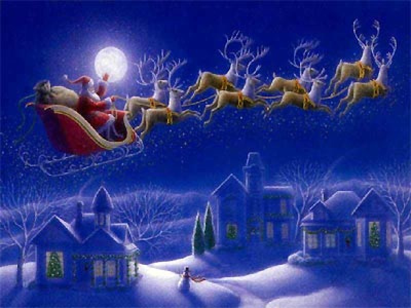 Santa Clause is coming to Trevose